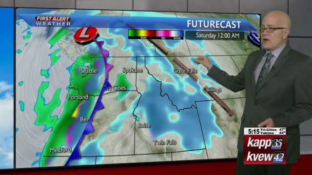 Your Wednesday night local forecast - 1-8-20