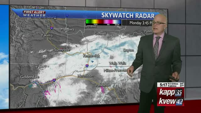 Your Monday night local forecast - 1/13/2020