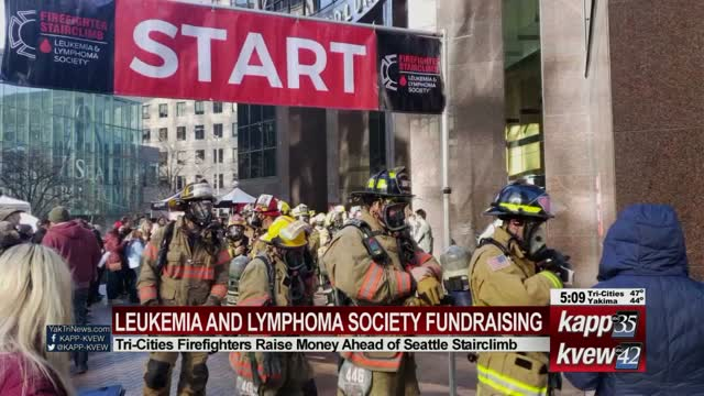 Tri-Cities firefighters raise money for LLS