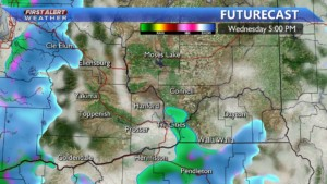 Few afternoon showers Wednesday