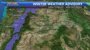 Winter Weather Advisory for the Cascades