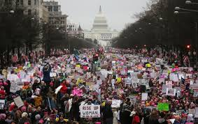 Women's March in DC 2017. Picture of the crowd