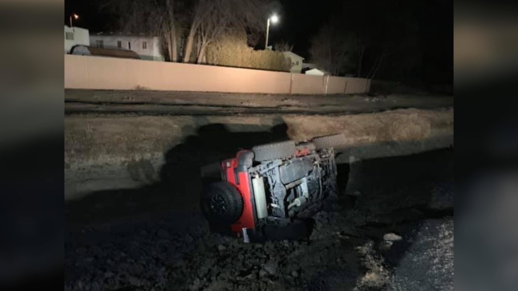 Suspected DUI driver crashes into canal