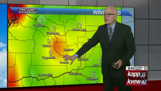 Your Local Tuesday night forecast - 1-7-20