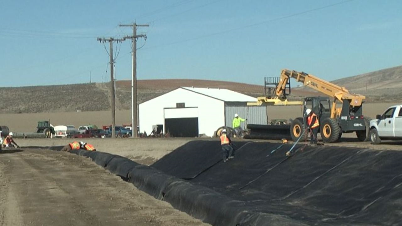 Kennewick Irrigation District finishes lining 16-mile canal that runs through Kennewick - YakTriNews.com