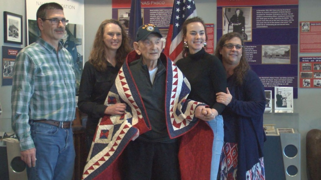 Jerry Mathews, Quilt of Valor