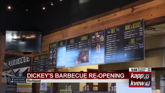 Dickey's reopening Richland