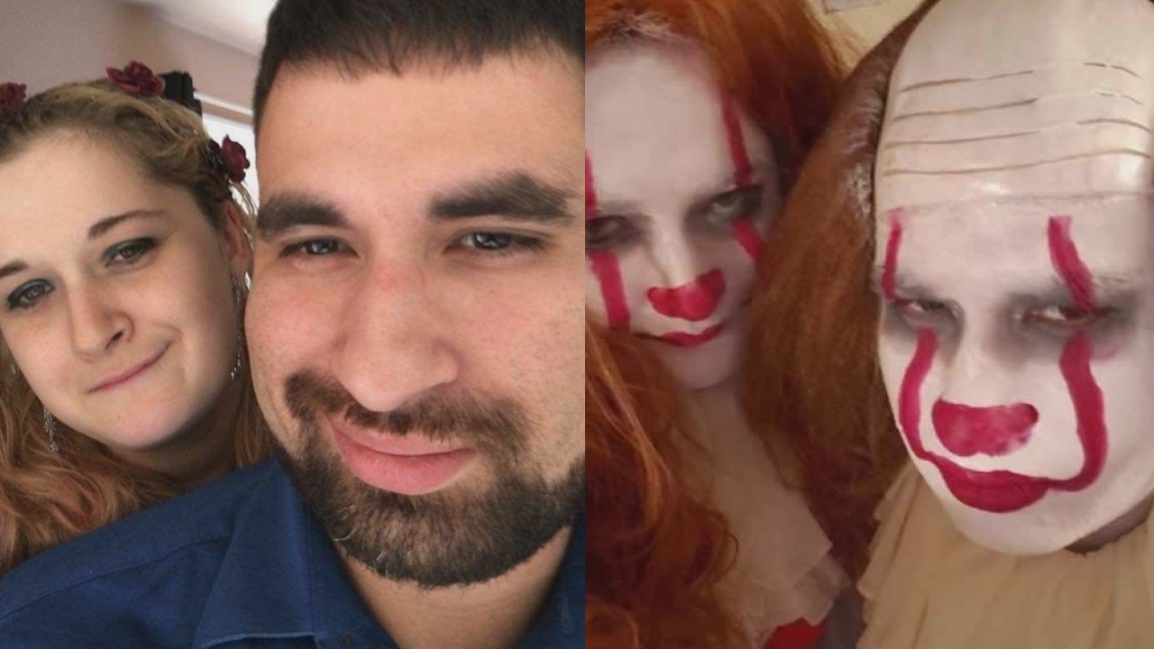 'Scary' cute couple brings a little Halloween to their Valentine's Day gifts - YakTriNews.com