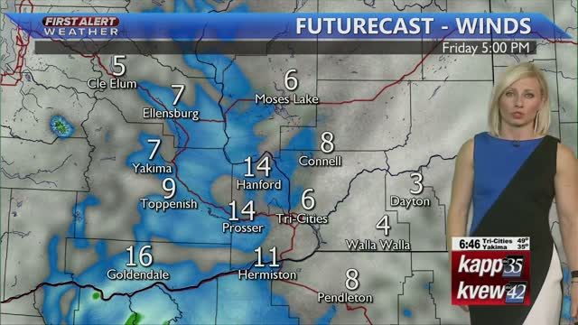 Cloudy Today With Rain Chances Increasing