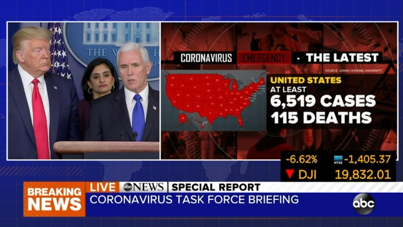 President Trump coronavirus briefing