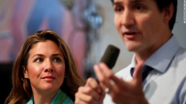 Justin Trudeau's wife tests positive for COVID-19