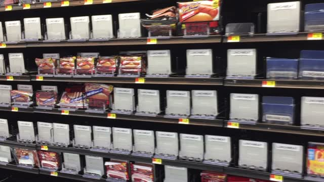 Empty Store Shelves In Tri Cities