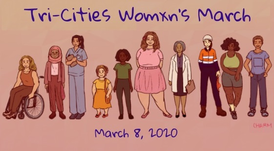 Tri-Cities Womxn's March