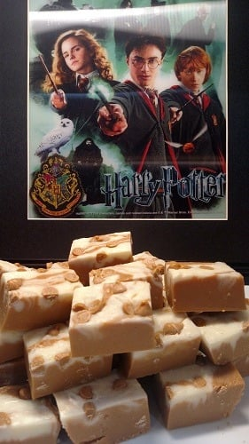 Butter beer fudge