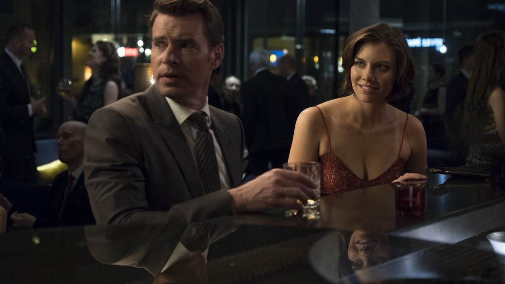 'Whiskey Cavalier' serves up spy games as Oscars chaser