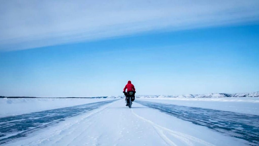 Meet the man who cycled across the frozen Arctic