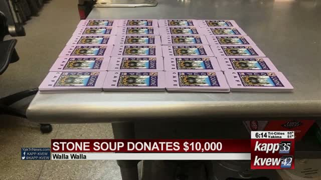 Stone Soup Donates $10k Worth Of Food To Families, Hospital And School Employees