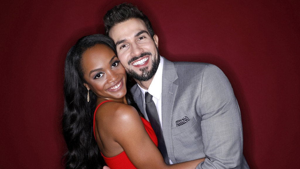 'Bachelorette' Rachel Lindsay and Bryan Abasolo waiting on a TV wedding