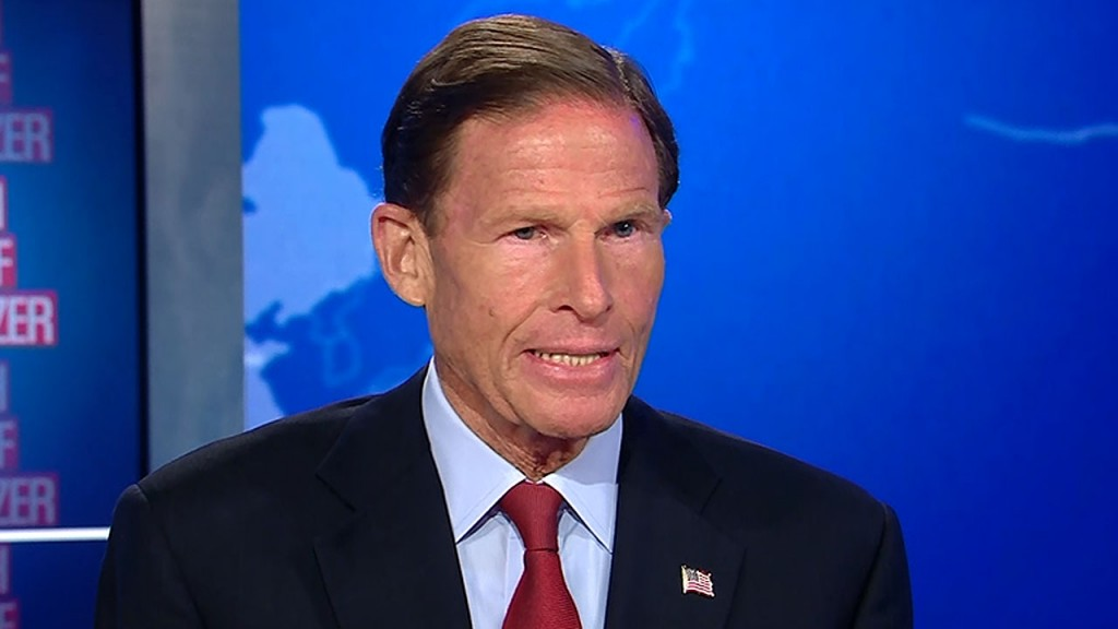 Sen. Richard Blumenthal: 'We are in a Watergate moment'