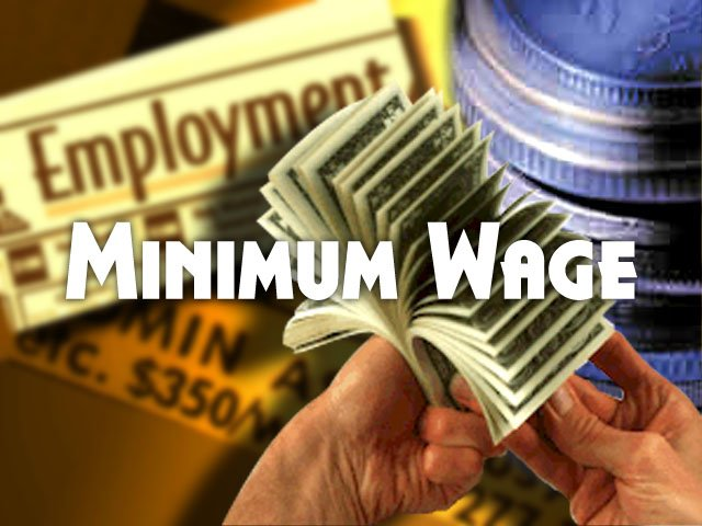 House Bill Would Raise Minimum Wage