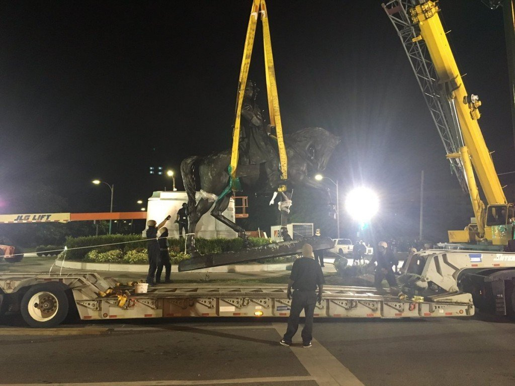 New Orleans spent $2.1 million removing Confederate monuments