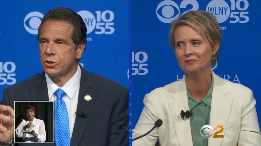NY Gov. Andrew Cuomo defeats actress Cynthia Nixon in primary