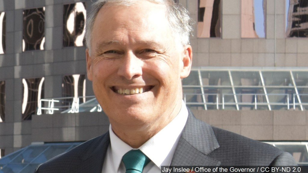 Inslee reaches donor requirement to qualify for first debate
