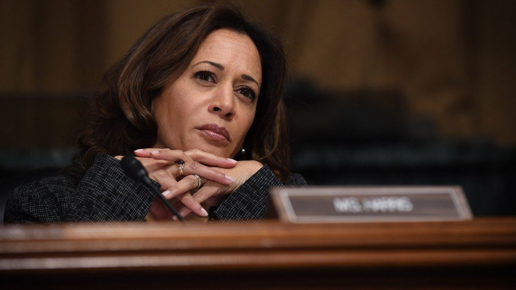 Kamala Harris says she won't conduct foreign policy by tweet