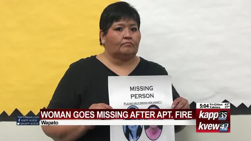 Yakama woman missing after apartment fire in Wapato