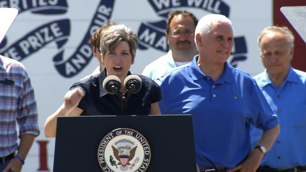 In demand as top GOP surrogate, Pence kicks off busy summer with Iowa stop