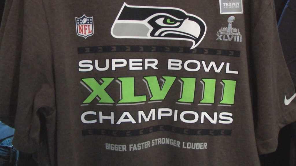 Championship Gear Hits Local Stores