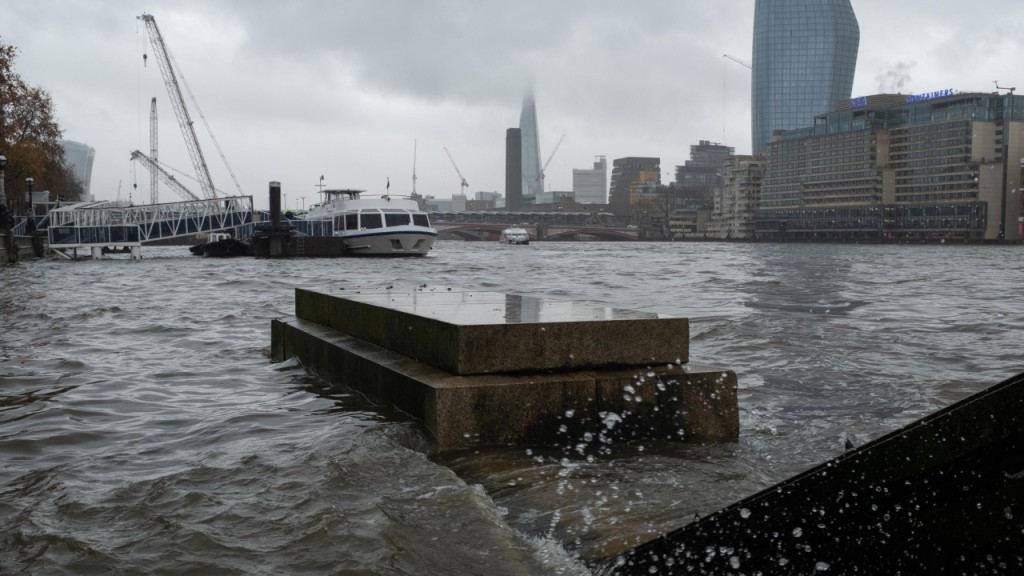 London has spent billions but faces realities of climate change