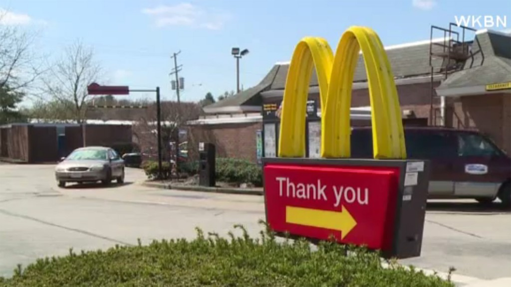 Boy, 8, drives to McDonald's after learning how online