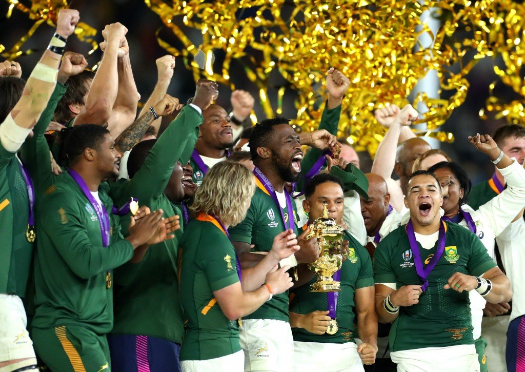 South Africa stuns England to win Rugby World Cup and inspire a nation
