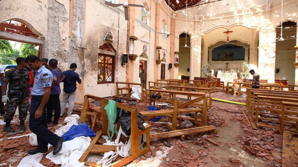 Easter attacks just latest chapter in Sri Lanka's history of violence