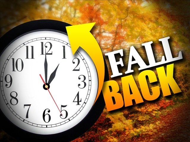 'Fall Back' This Weekend