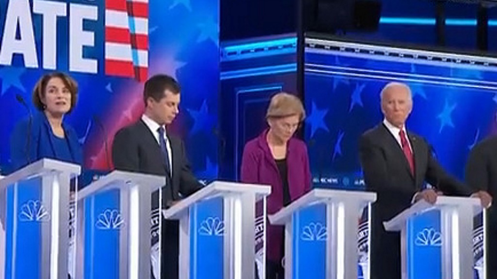 MSNBC's Democratic debate was the least-watched so far
