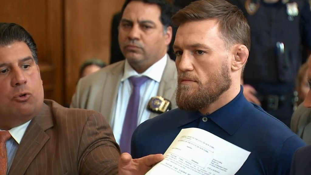 Conor McGregor pleads guilty to disorderly conduct
