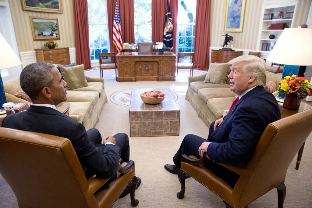 Obama welcomed Trump to Washington a year ago. They haven't spoken since.