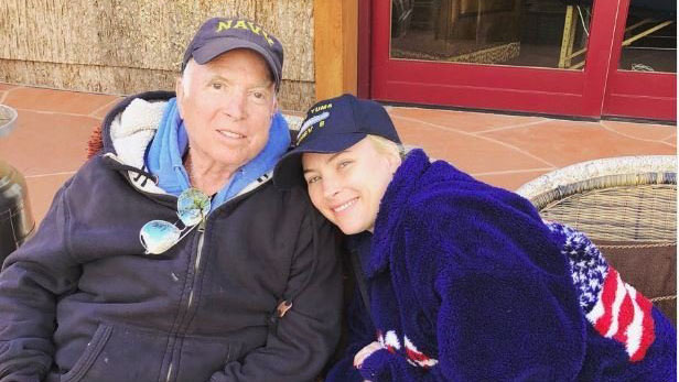 Meghan McCain shares photo of father during his absence from Washington