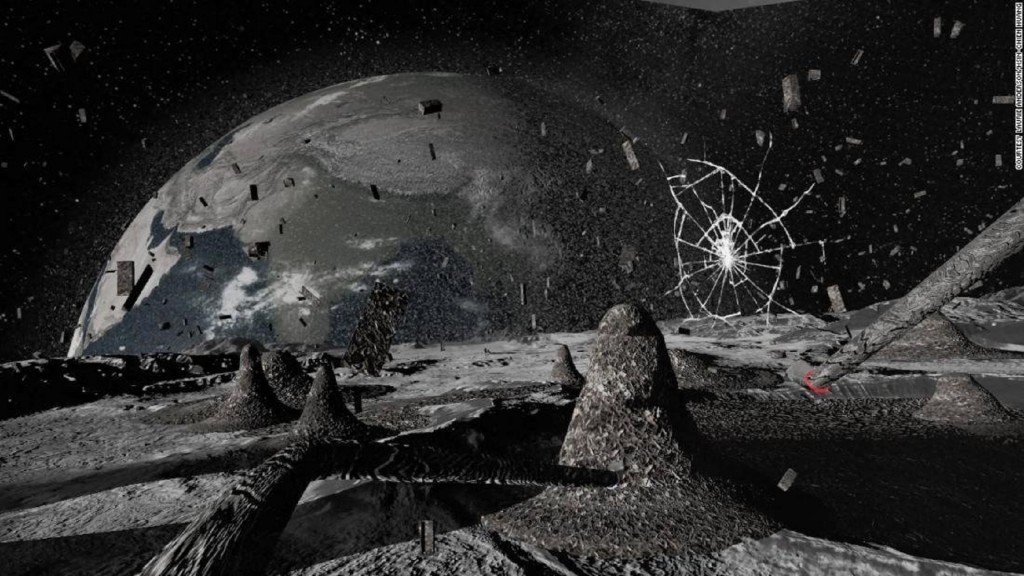 Laurie Anderson's VR installation flies you to the moon