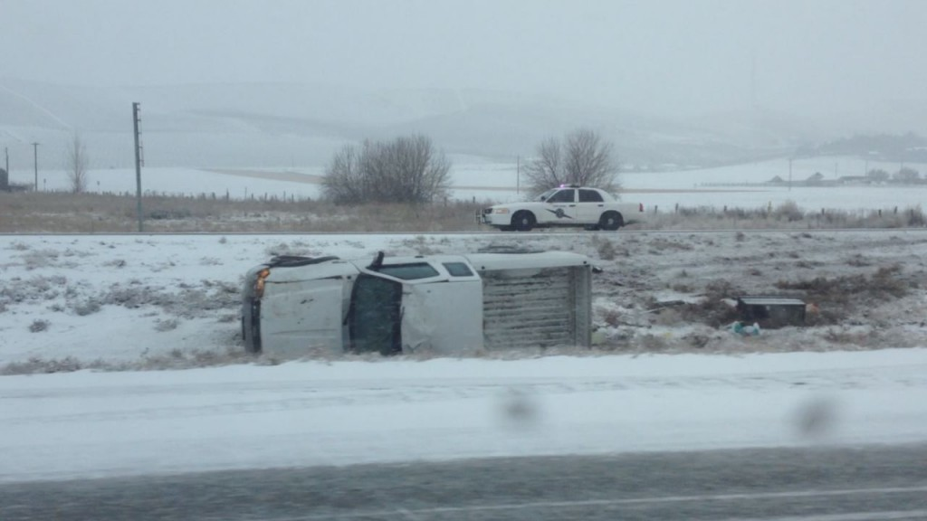 Snow Causes Highway Problems