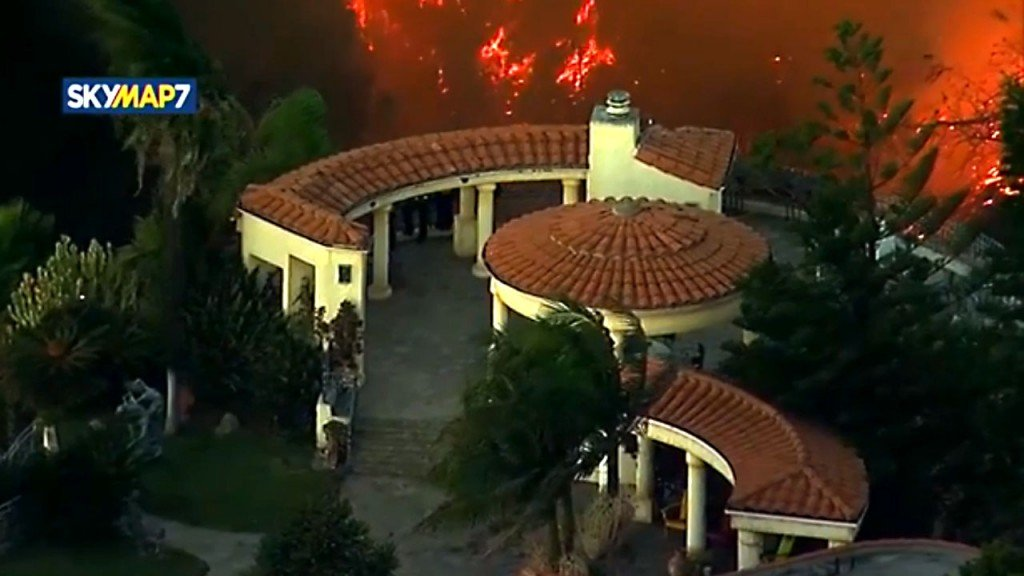 Amid wildfires, Getty museum says art is safe