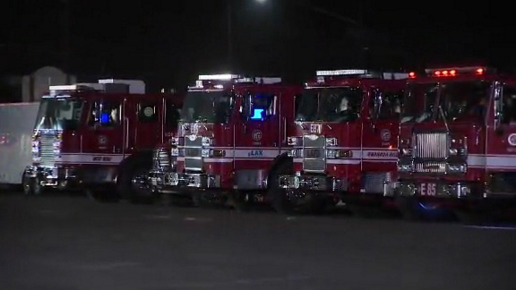 12 LAFD firefighters recovering after explosion