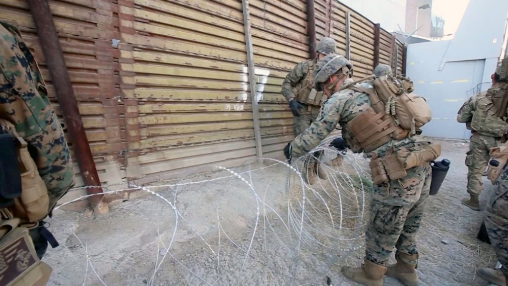 Pentagon IG to review deployment of US troops to southern border
