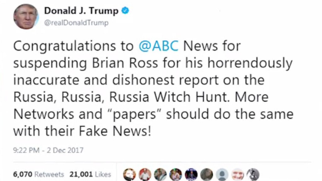 Trump says investors should sue ABC News. Experts beg to differ