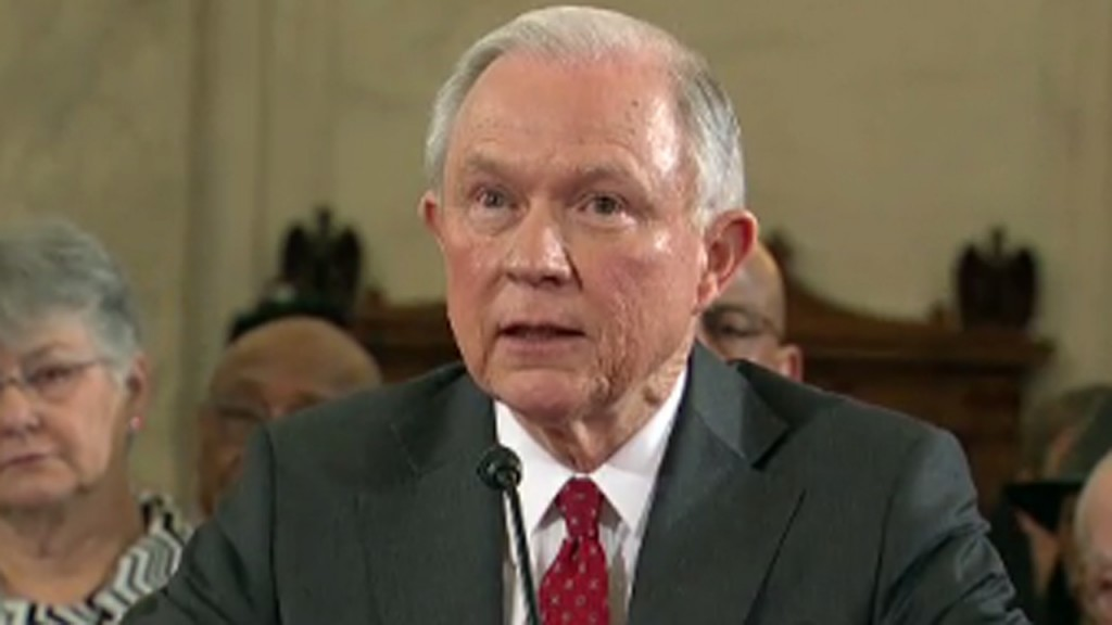 Jeff Sessions hearing looms over week on the Hill