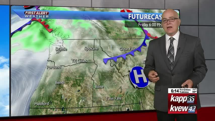 Your Tuesday evening forecast – 9/10/19