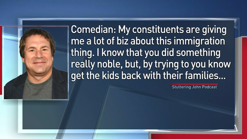Comedian claims to have successfully prank called Trump