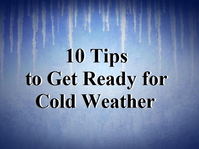 """Top Ten"" Winter Weather Safety Tips"